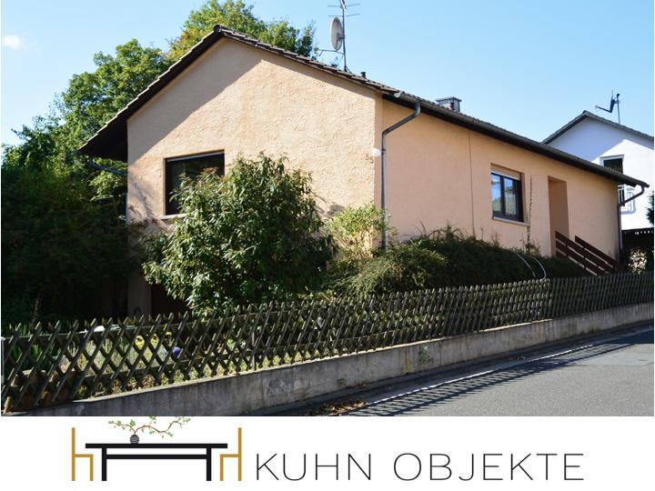 348 / Wendelsheim / Bungalow in schöner Lage mit großem Garten.
