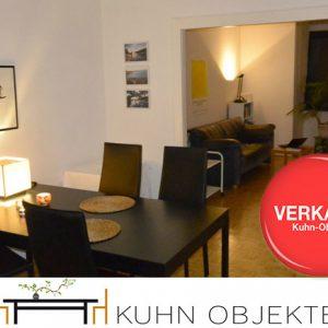 Düsseldorf / Gut gelegene Altbau Wohnung an der Düssel mit Aufzug und Wintergarten