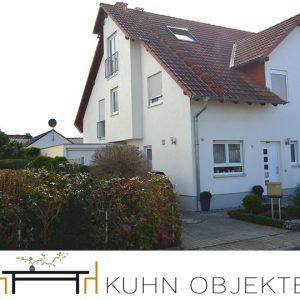 Rödersheim / Neuwertige, gepflegte Doppelhaushälfte mit Dachstudio