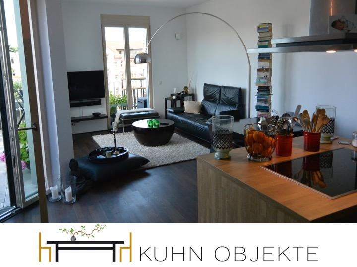 266 / Mannheim Museumsviertel C Quadrat  Luxuriöse möblierte Dachterrassen Wohnung