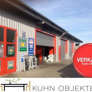 Limburgerhof /Flexibel nutzbare Hallen mit Büro und Parkplätzen in gesuchter Gewerbegebietslage