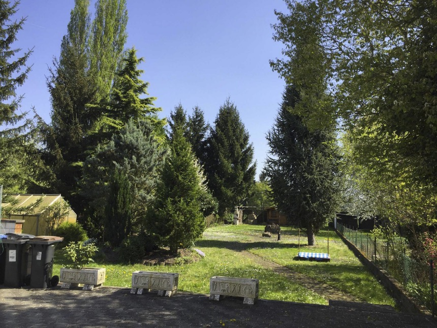 Schifferstadt / Helle – Großzügige Dachgeschosswohnung mit Garten