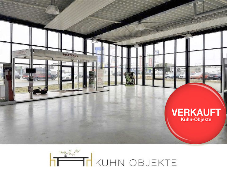 366 / Hockenheim Gesuchtes Investitionsobjekt – Neuwertige Verkaufshalle mit Werkstatt-, Lager- und Bürofläche