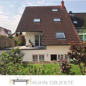 377/Altrip –  Großzügige Maisonette Wohnung mit eigenem Garten