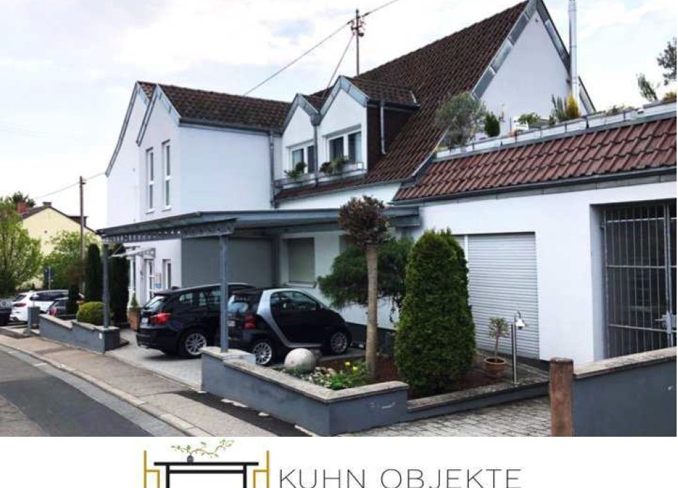 380/Edenkoben –  Sehr gepflegte und moderne Maisonette Wohnung mit Terrasse