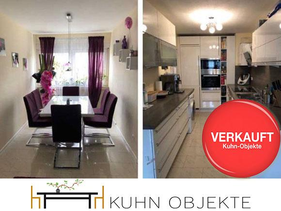 407 / Leimen / Schöne – gepflegte Etagenwohnung mit Balkon