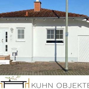 418/ Mutterstadt – Exklusiver Bungalow im Doppelhausstil – ruhige – zentrale Lage –