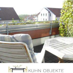 416/ Mannheim Schöne, helle Dachgeschoss Wohnung mit Einbauküche und Balkon