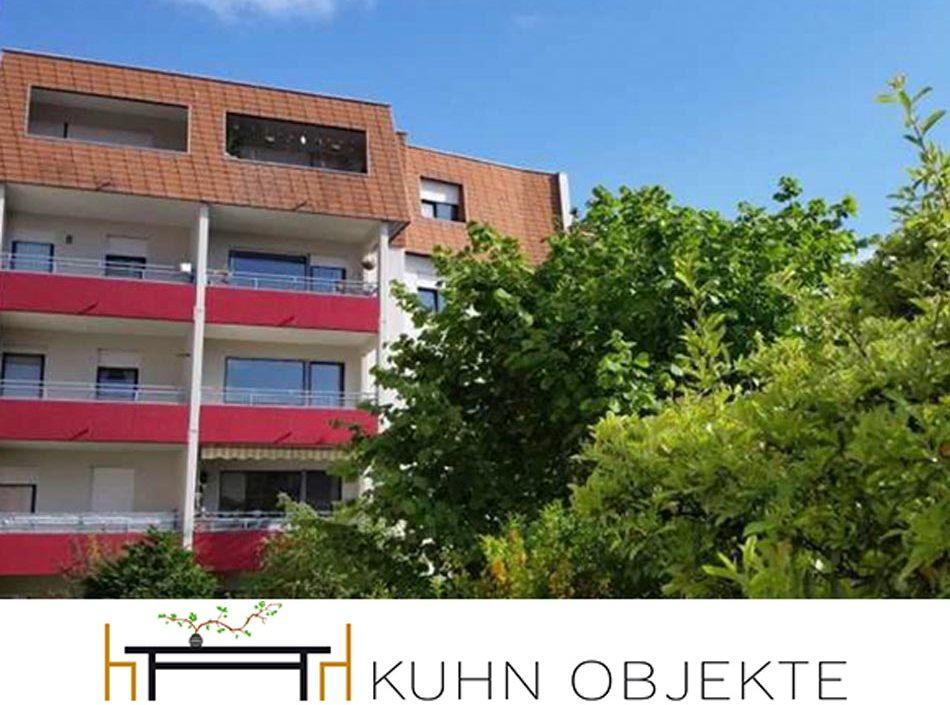 449/Ludwigshafen –  Erstbezug nach Renovierung, helle, freundliche 4-Zi-Wohnung mit Loggia.