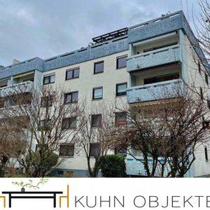 450/ Schöne-helle-renovierte Eigentumswohnung mit Balkon und Garage / Schriesheim