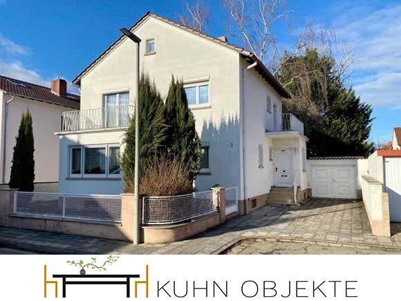 457/ Freistehendes Einfamilienhaus mit schönem Garten in Maxdorf